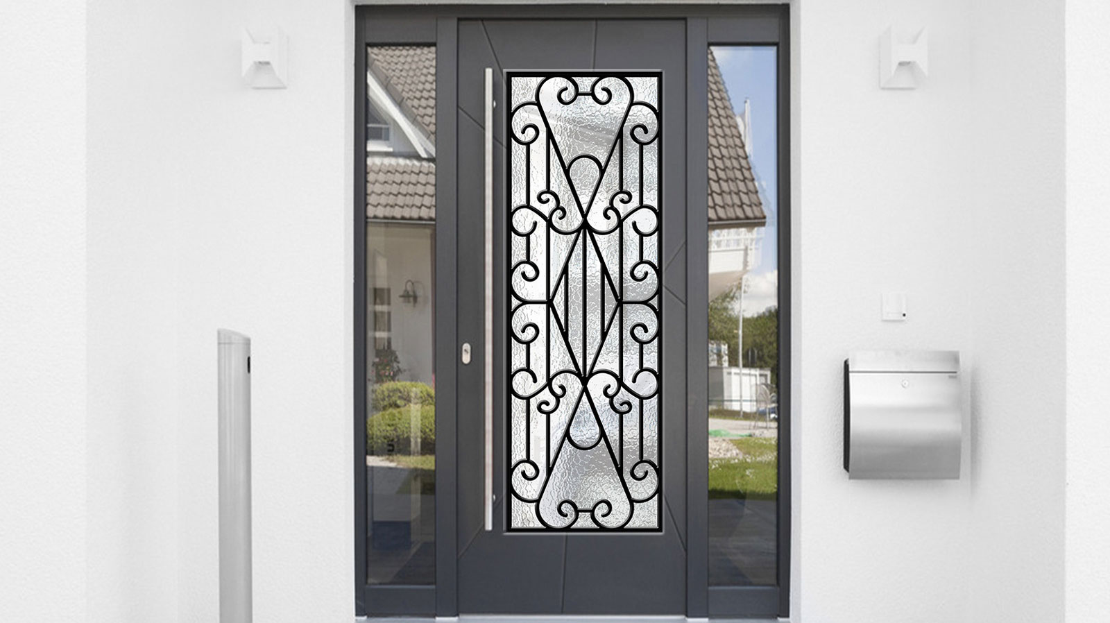 Rod Iron Security Door